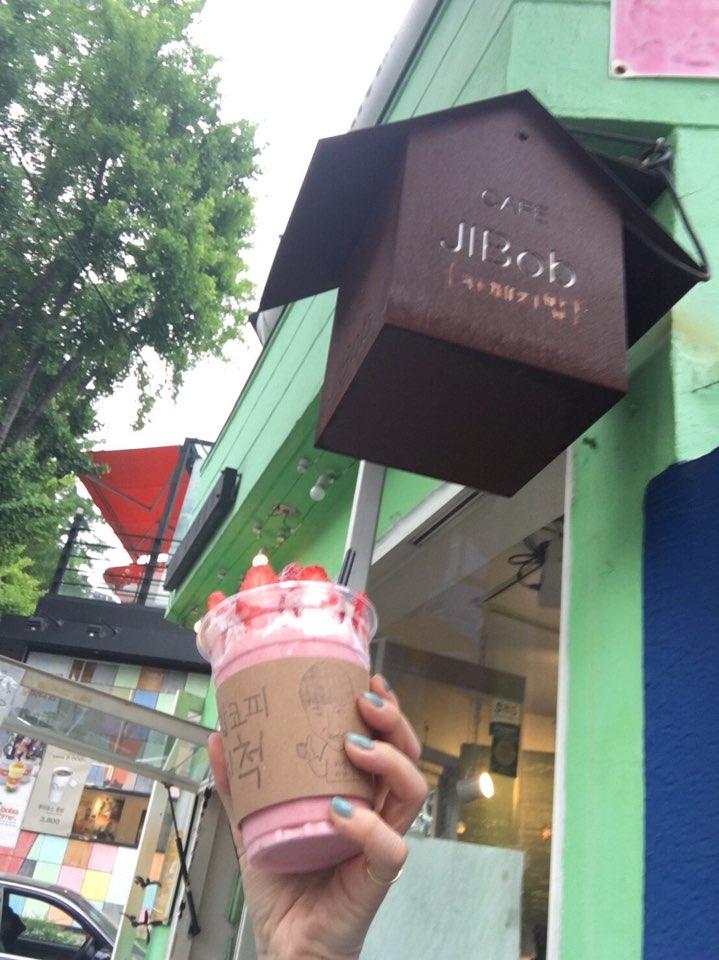 【東方神起】ユノ(ユンホ)休暇で訪れた〈카페지밥(Cafe Jibob)〉というカフェに行ってきた。