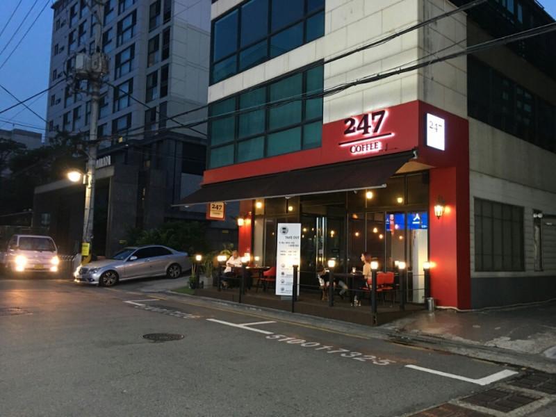 【ヲタ活】新沙洞☆東方神起ユノのお友達のカフェ〈247カフェ〉(247cafe)
