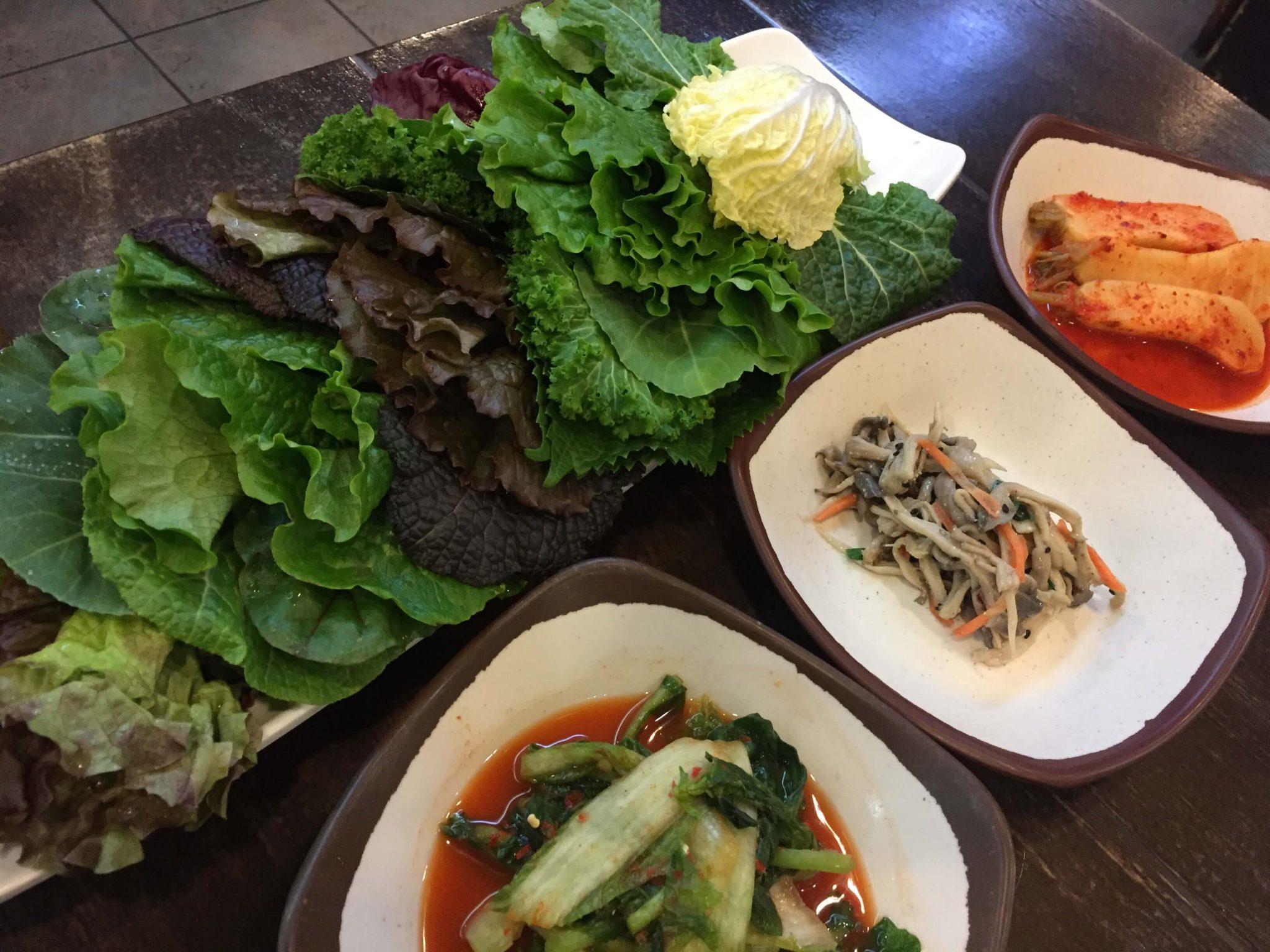 【韓国グルメ】富川・麦飯ッサムパブとサムギョプサルのお店に行ってきた。
