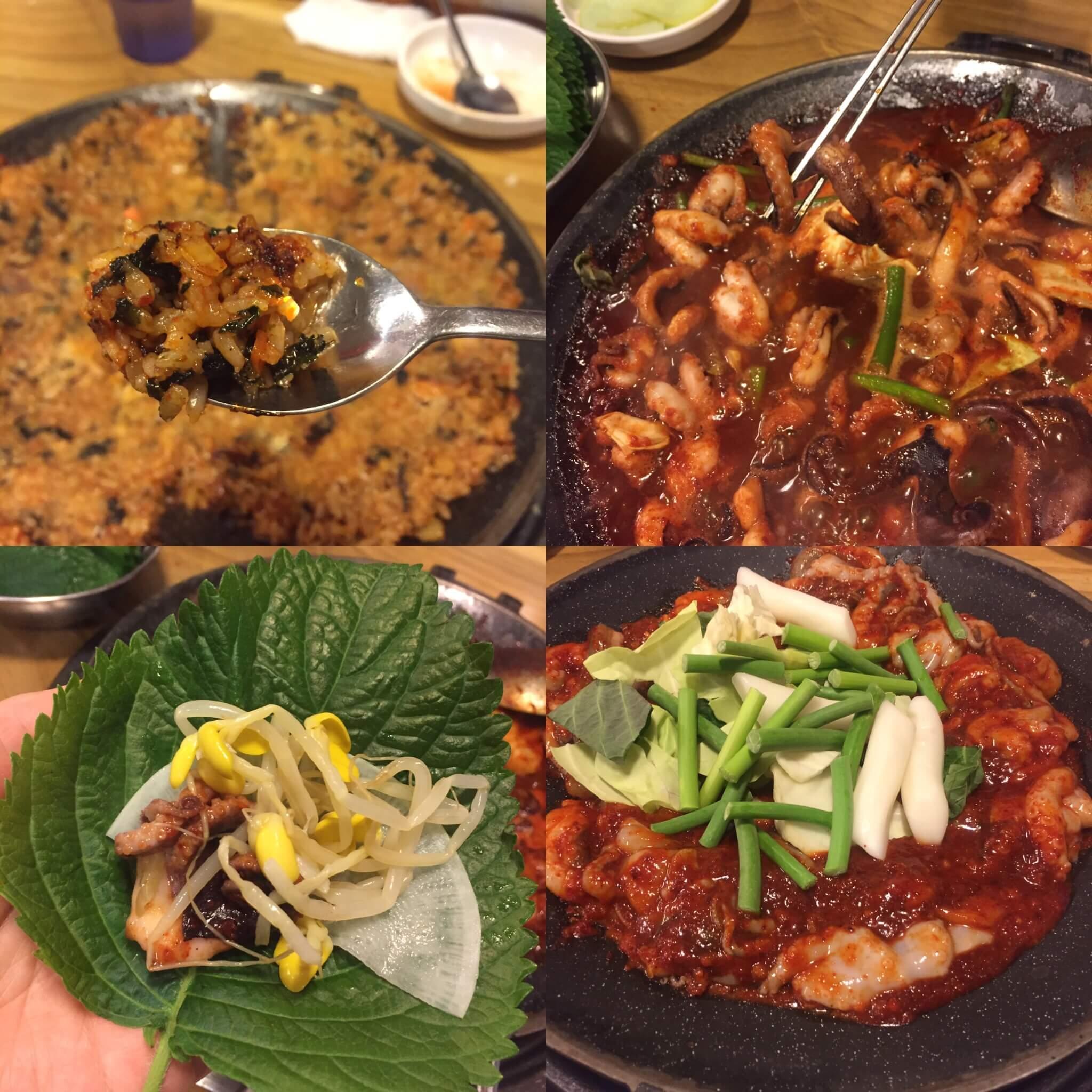 【韓国グルメ】弘大☆チュクミ(チュックミ)を食べに、ホンスチュクミ(홍스쭈꾸미미)に行ってきた。