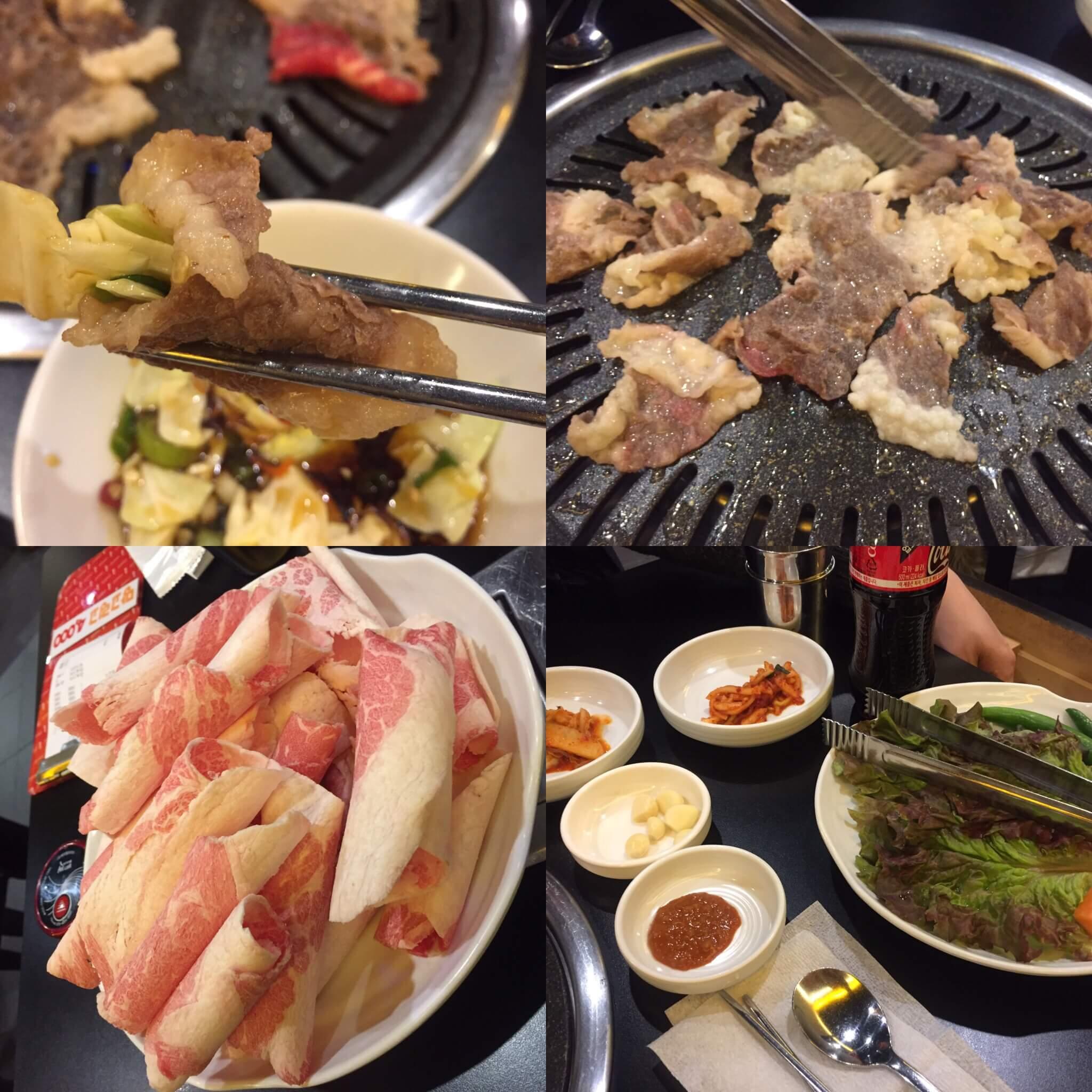 【韓国グルメ?!】新村☆トルベギジブ(돌배기집)で、チャドルバギ(焼きしゃぶ?!)を食べてきた。