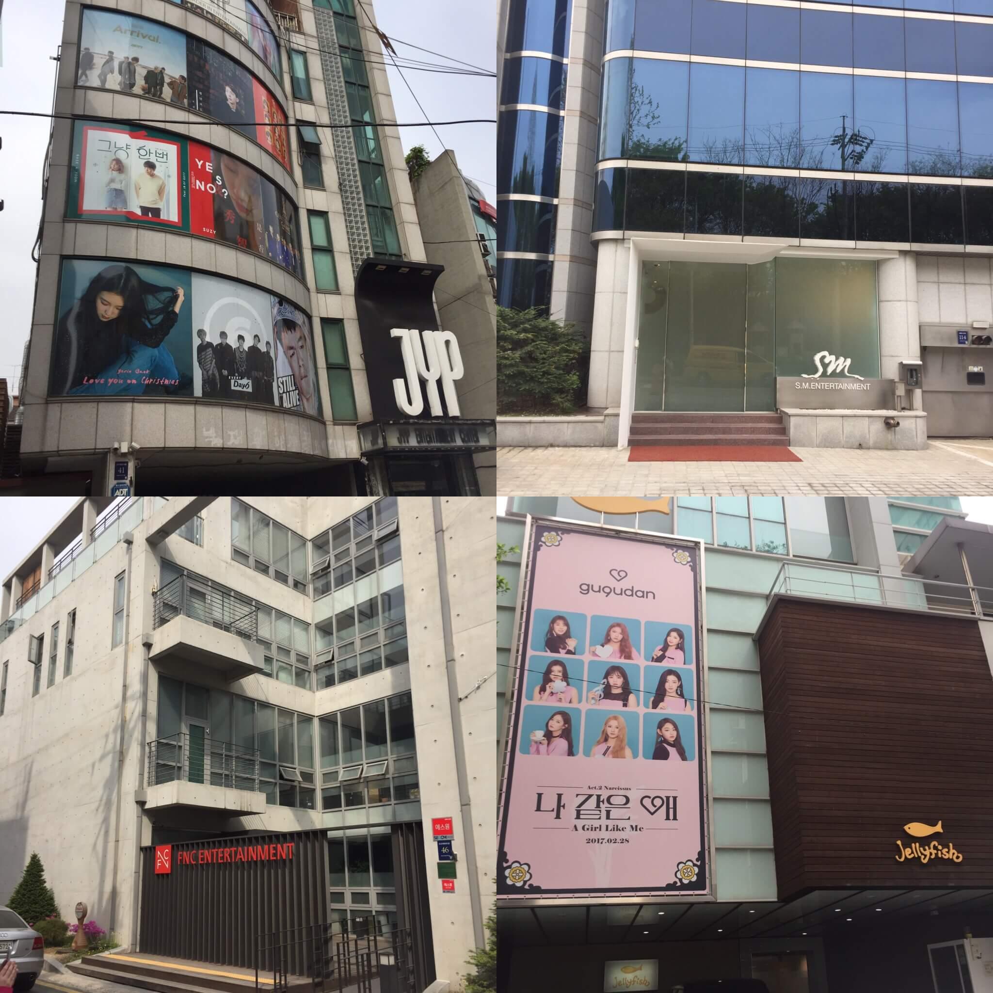 【タビナカ】K-POPアイドルに会えるかも?!KPOPスターロード☆4大芸能事務所見学ツアーをしてきました^^