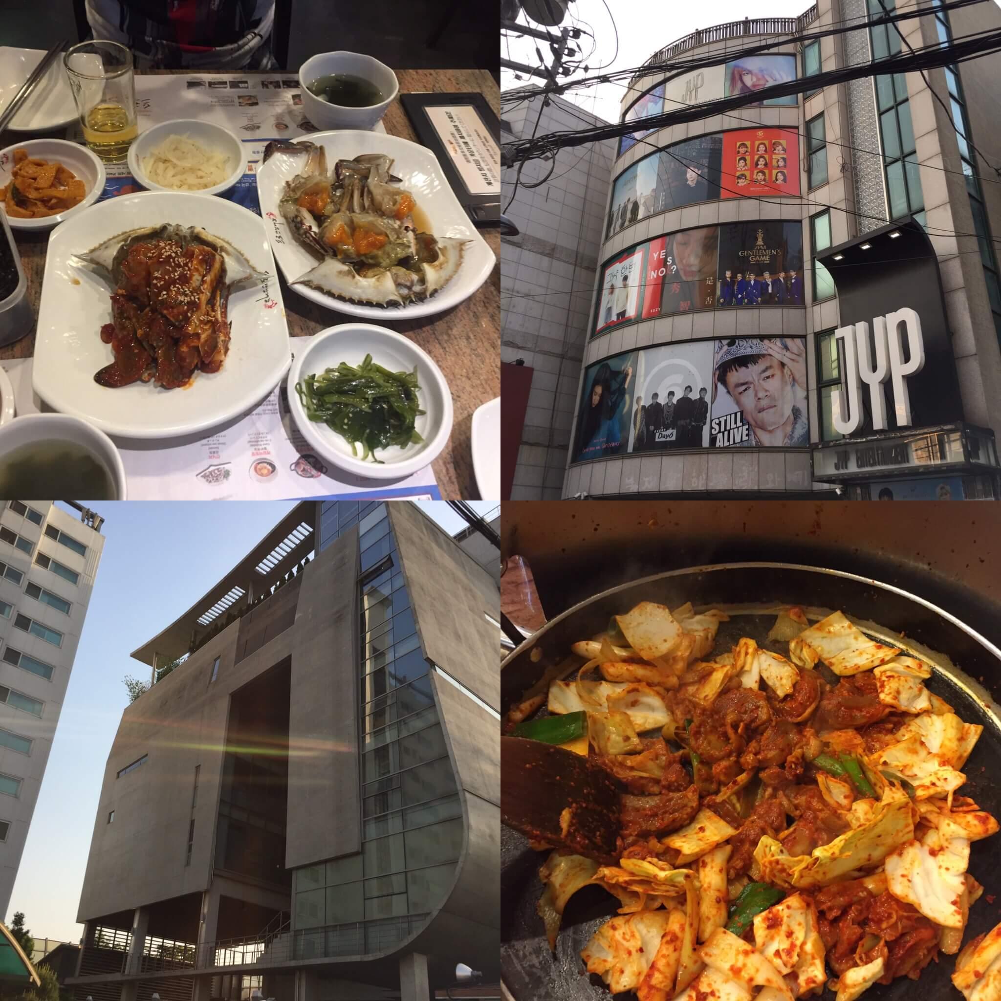 【韓国・男子一人旅】2大芸能事務所(YG・JYP)を巡って、韓国グルメ(カンジャンケジャン・タッカルビ)を楽しんできました!