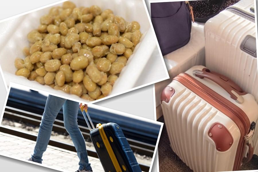 日本の納豆を韓国に持って帰りたい!国際線の飛行機に、納豆は手荷物として持ち込み可能か検証してみた。