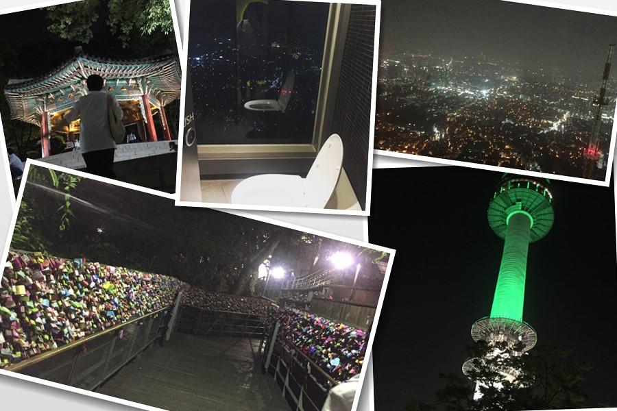韓国ドラマで定番のロケ地、Nソウルタワーに行ってきた。ソウルタワーのイルミネーションの謎と夜景、アレにもびっくりしちゃったよ。
