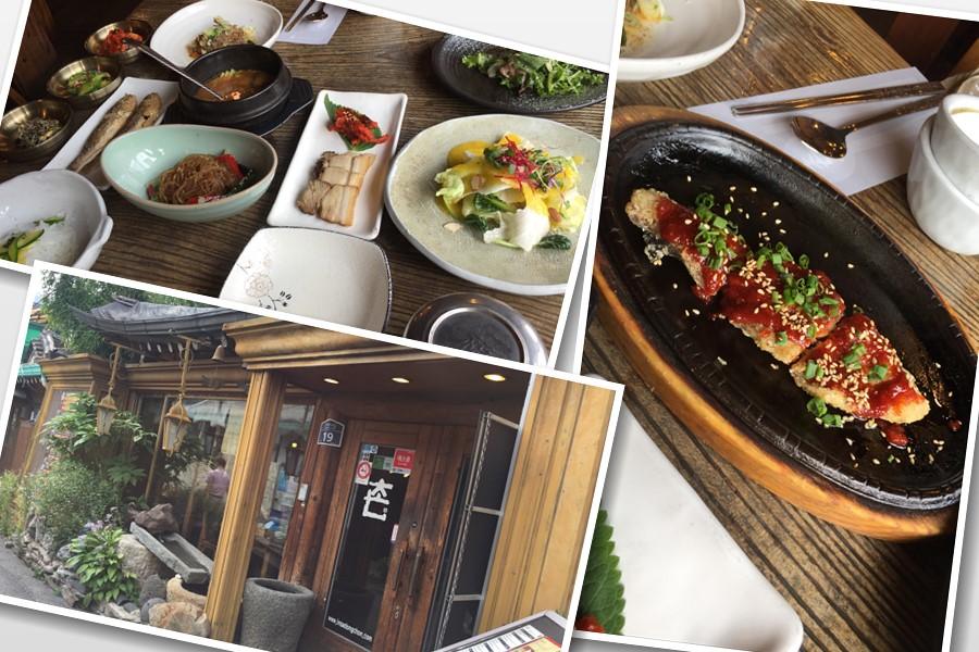 仁寺洞でおしゃれな韓定食ランチなら、「촌(村・チョン)」がおススメ。おしゃれな雰囲気でゆったりご飯がいただけます!