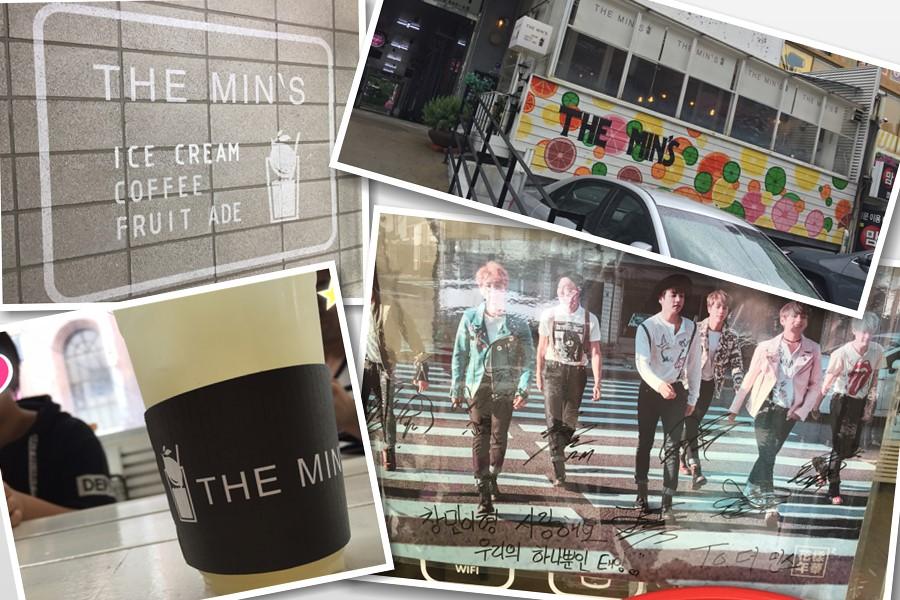 防弾少年団の行けつけのカフェ【THE MIN'S】に行ってきた!K-POPファンには2度おいしい場所でした^^